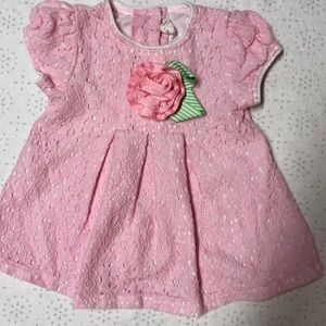 Adorable Pink Starting Out Summer Dress
